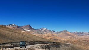 India truck in Leh