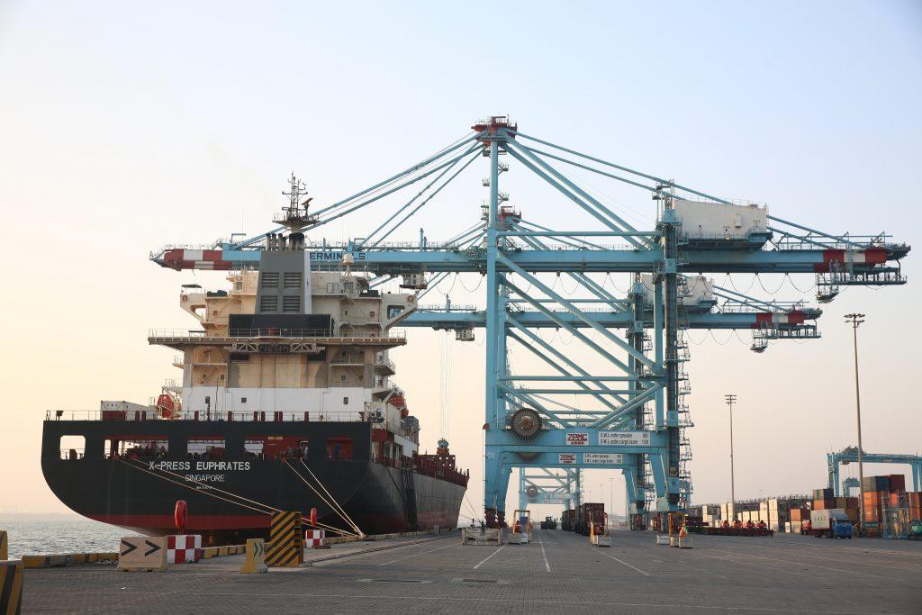 Centre of activity: APM Terminals Bahrain - Construction Business