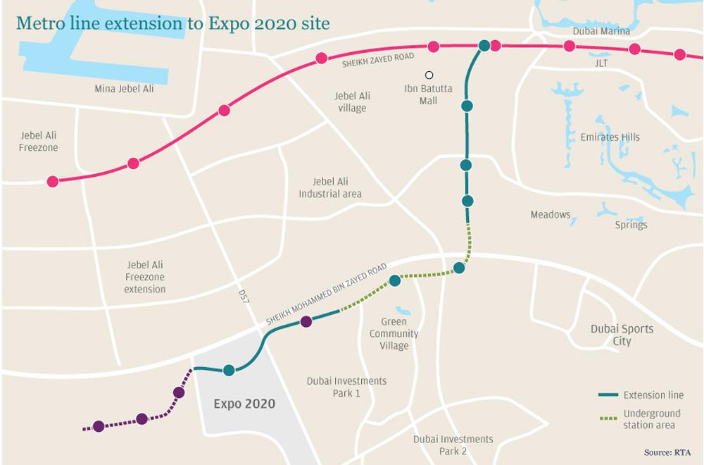 """Expo 2020 metro route on schedule"": Alstom"